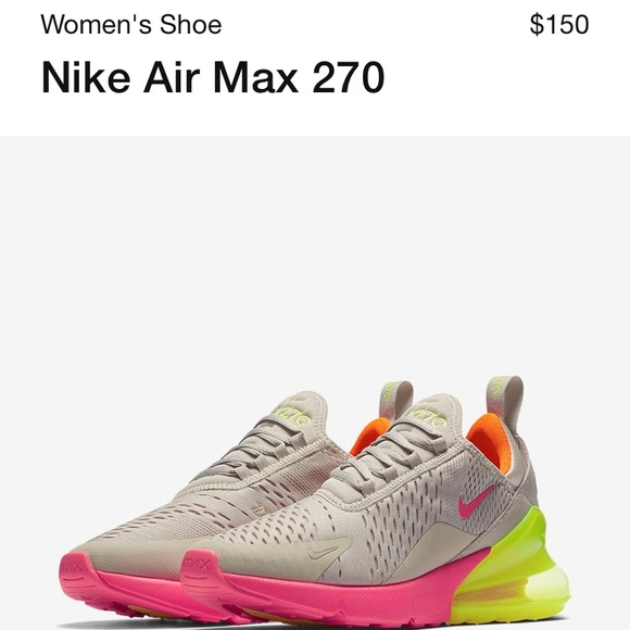 b96ee2716e Nike Shoes | Air Max 270 | Poshmark